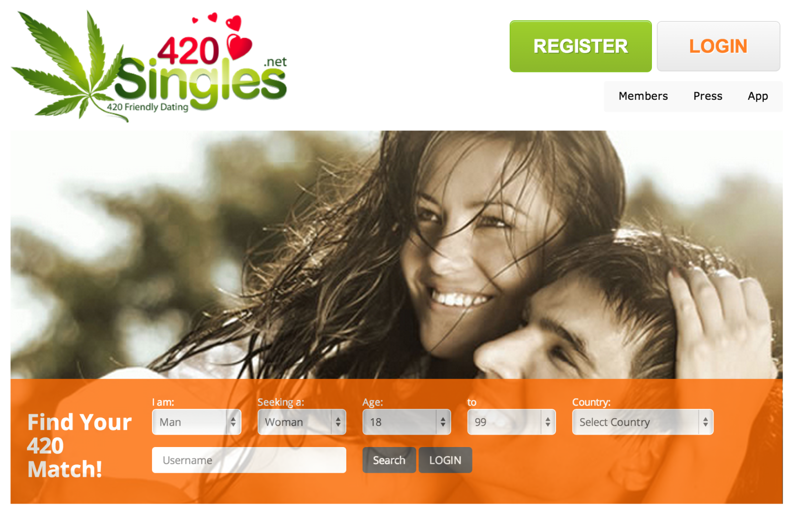 Dating site for potheads