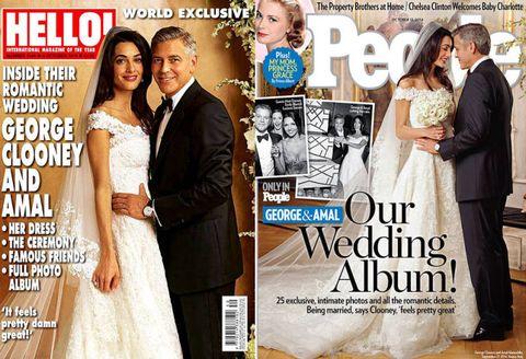 See Amal Alamuddin's wedding dress.