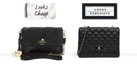cb906254ece On right: Black Quilted Chain Bag, CHARLES & KEITH, ...