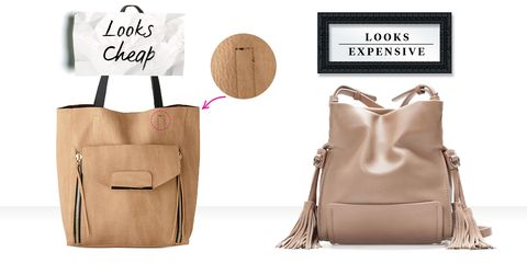 199324e54185 On right: Tasseled Mini Bucket Bag, ZARA, ...