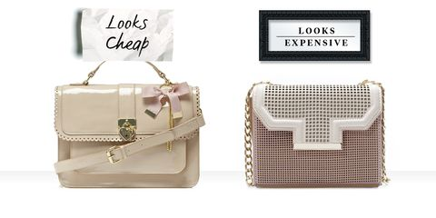 On Right Perforated Chain Bag Zara