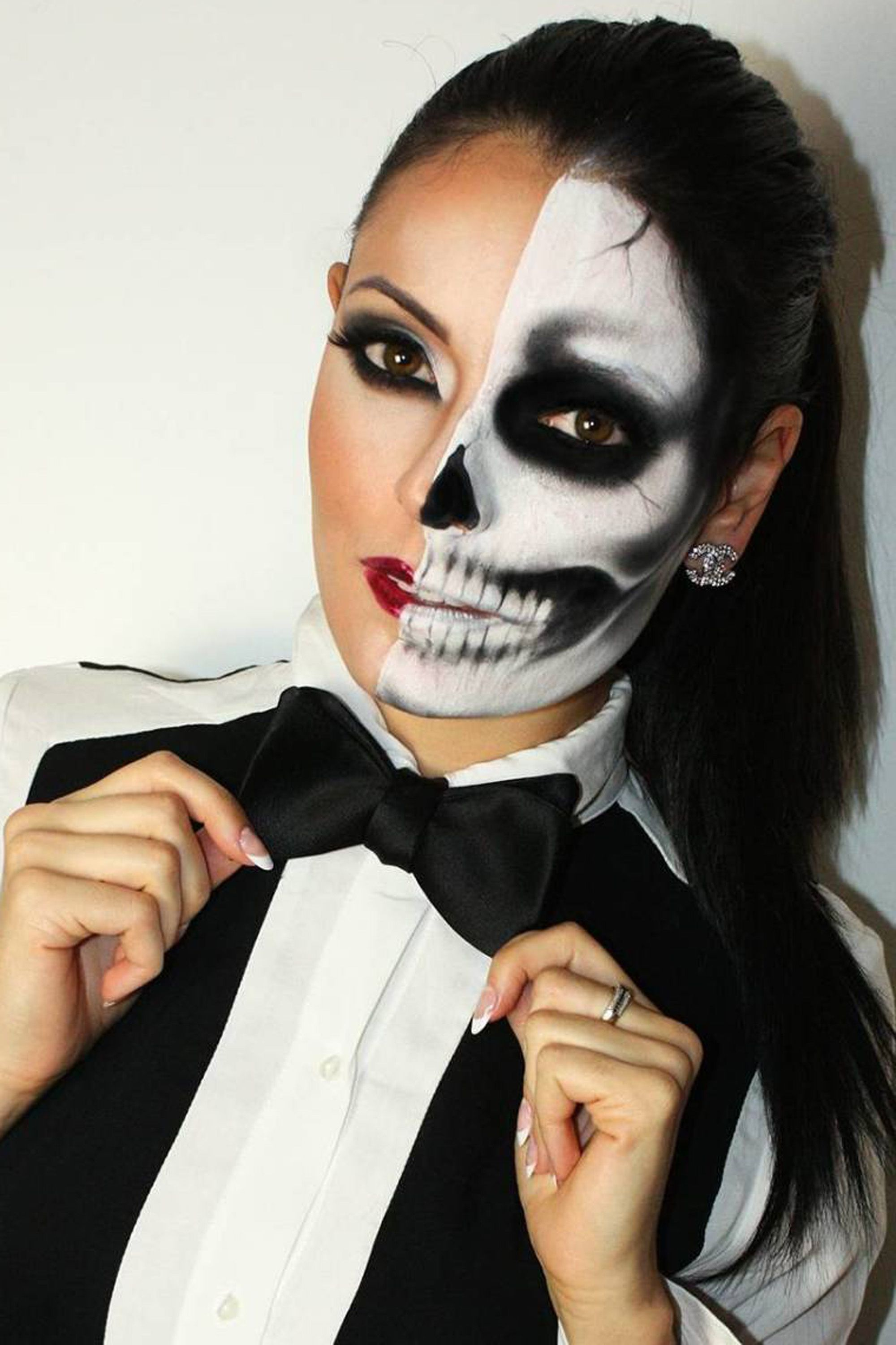 Scary but sexy halloween costume