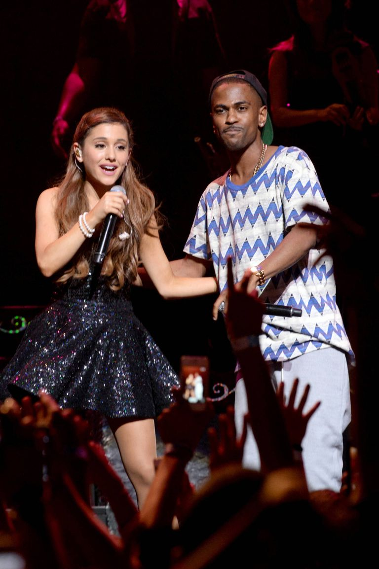Ariana Grande Actually Says Out Loud That She's Dating Big Sean