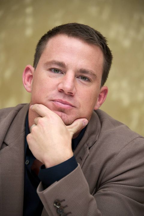 Channing Tatum thinking great thoughts.