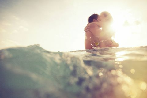This Couple Got Stuck Together When They Had Sex in the Sea