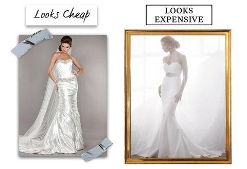 a6a42156e72 10 Reasons Your Wedding Dress Looks Cheap