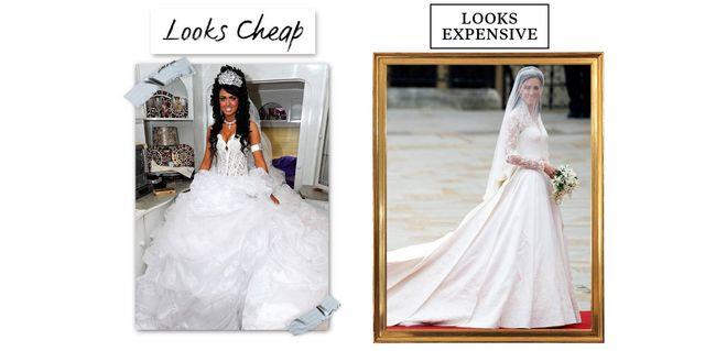 10 Reasons Your Wedding Dress Looks Cheap