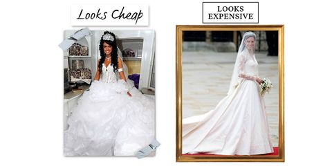 5c98868402 10 Reasons Your Wedding Dress Looks Cheap