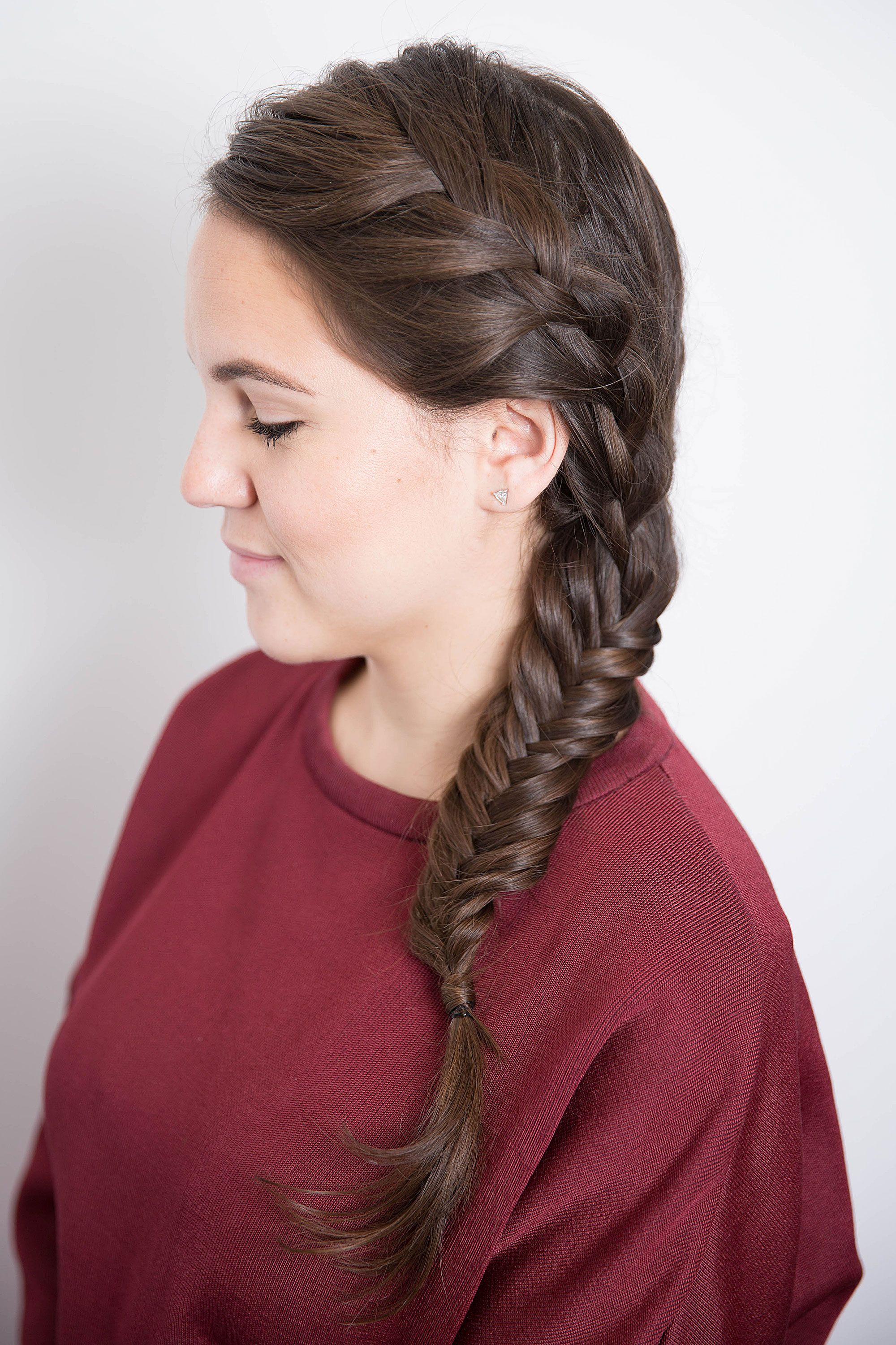 17 Braided Hairstyles With GIFS , How to Do Every Type of Braid