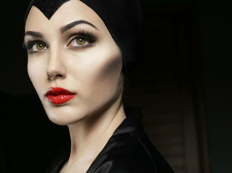 This Maleficent Makeup Job Is Wicked Good