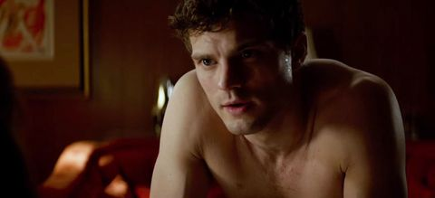 """Jamie Dornan not whipping his dick out in """"Fifty Shades"""" after all."""
