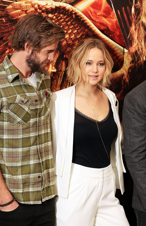 Liam Hemsworth Says Jennifer Lawrence Helped Him Get Over Miley