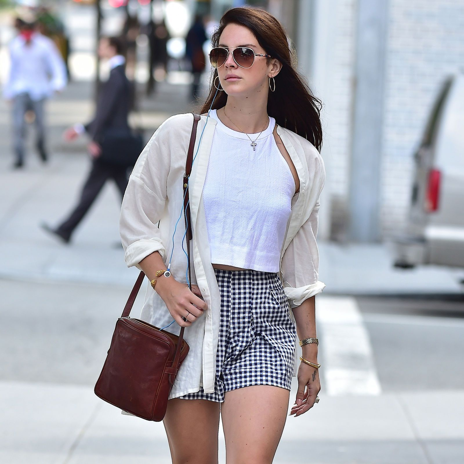 Lana Del Rey in Soho on Sept.18, 2014 in New York City.