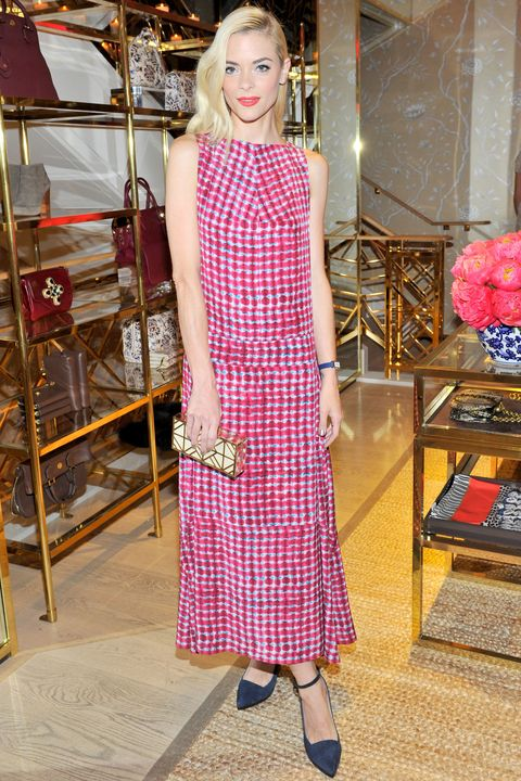 196403f17ea Jaime King attends the Vogue and Tory Burch celebrate the Tory Burch Watch  Collection event on
