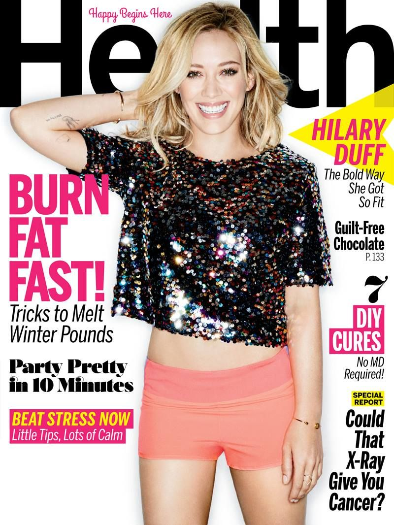 Hilary Duff Reveals She Had Serious Body Image Issues As A Teen
