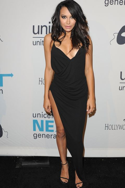 Naya attends UNICEF's Next Generation 2nd annual UNICEF Masquerade Ball on Oct. 30, 2014 in Los Angeles.