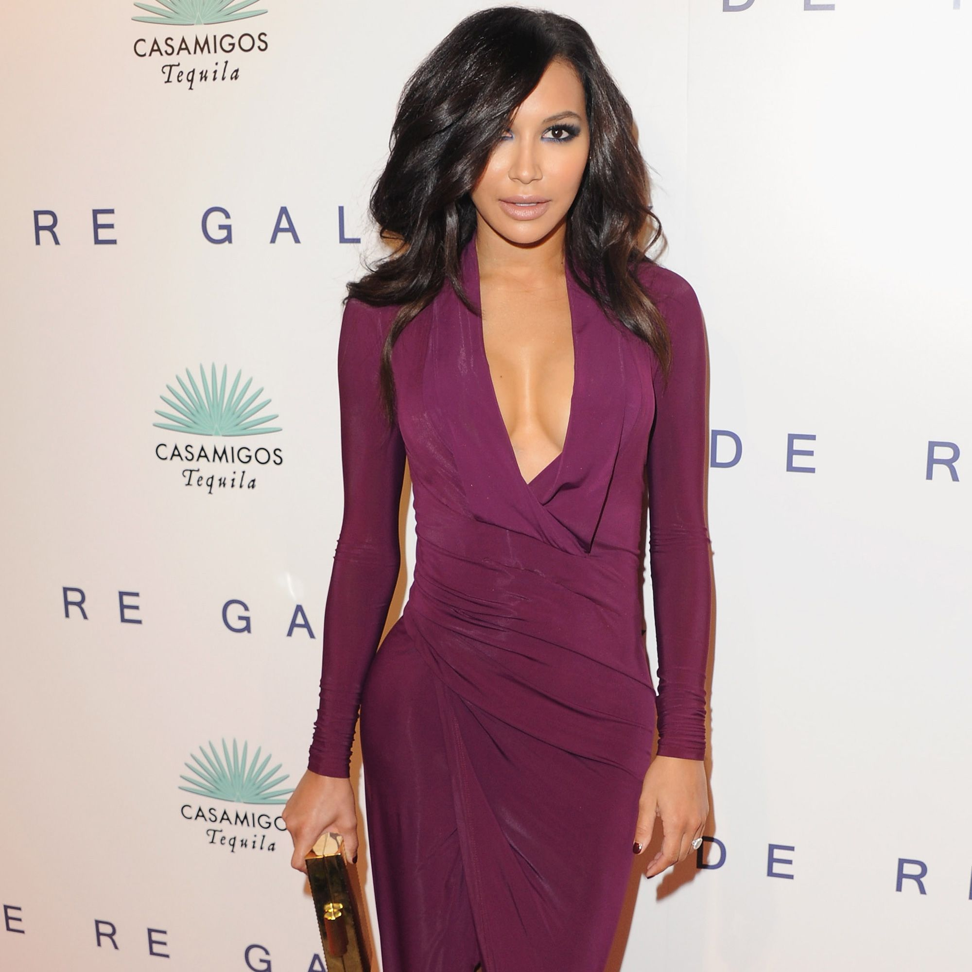 Naya arrives at the opening of Photographer Brian Bowen Smith's <i>Wildlife</i> at De Re Gallery on Oct. 23, 2014 in West Hollywood, California.