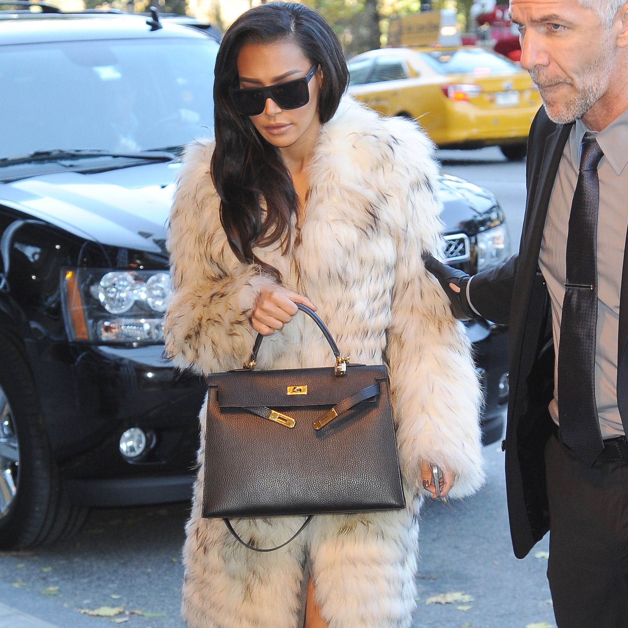 Naya Rivera in Soho on Nov. 18, 2014 in New York City.