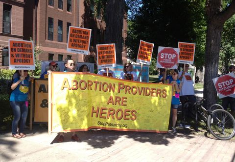 Abortion Rally in North Dakota