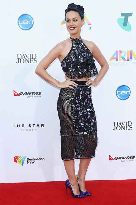 Katy Perry at the 28th Annual ARIA Awards on Nov. 26, 2014 in Sydney, Australia.