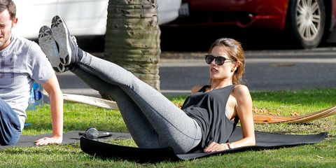 Alessandra Ambrosio in Brentwood on Dec.06, 2014 in Los Angeles.