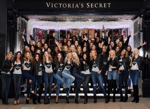 The 2014 Victoria's Secret Fashion Show lineup.