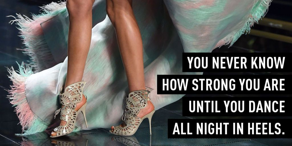 4 Exercises That Make It Easier to Walk in Heels