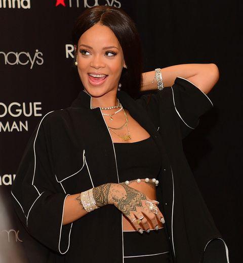 Rihanna previews more new music.