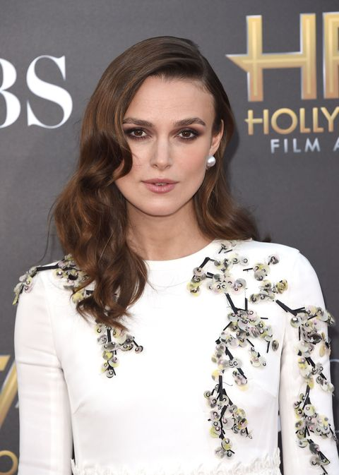 Keira Knightley is pregnant.