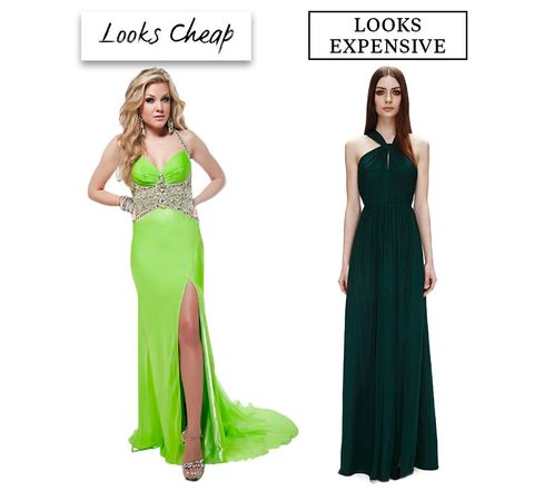 image. Advertisement - Continue Reading Below. Dark Green Gown ... 409c93058622