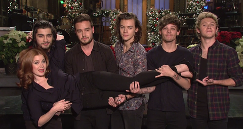 One Direction Kills it on Saturday Night Live