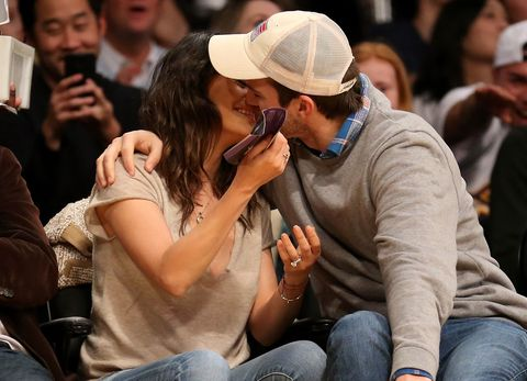 Mila Kunis and Ashton Kutcher's First Post-Baby Outing