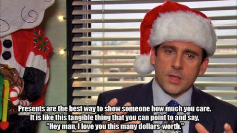 I hate christmas gift giving