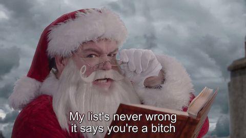 OMG Santa, so sassy.