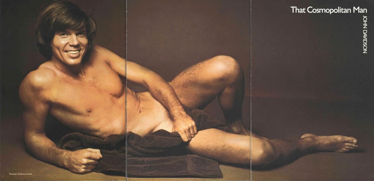 Carmen strips nude