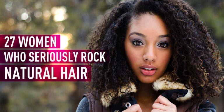27 Gorgeous Photos of Women Rocking Natural Hair