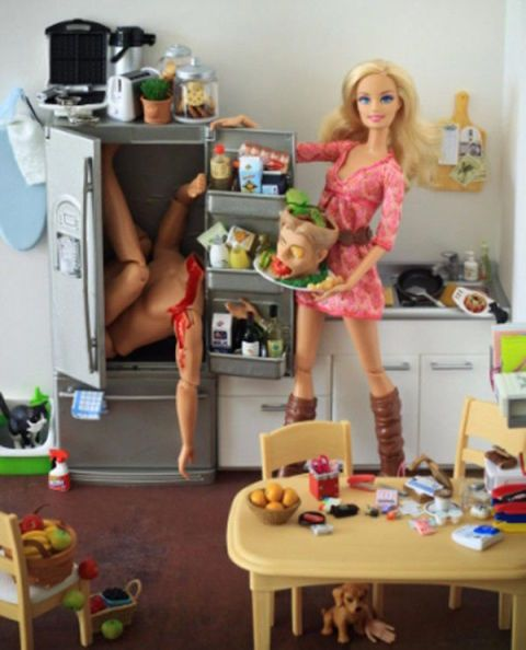 Serial Killer Barbie Is the Hot New Thing in Toys