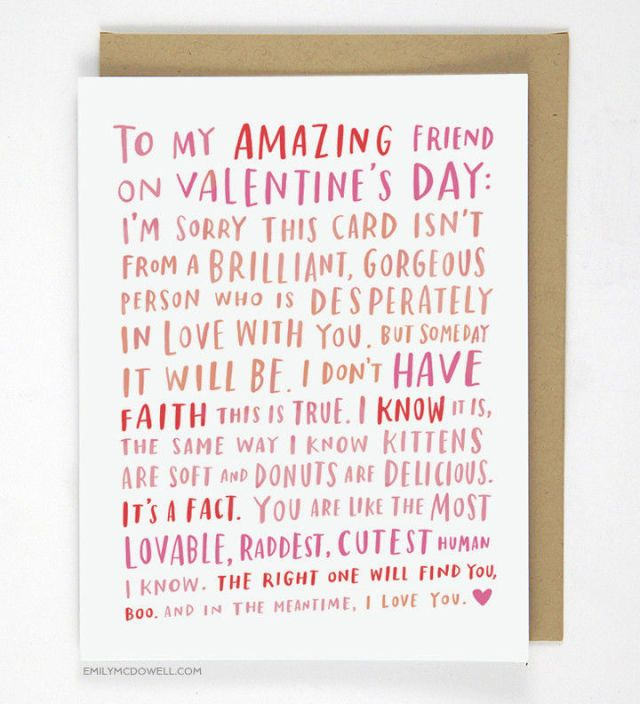 What to write in a valentines day card for someone you just started hookup