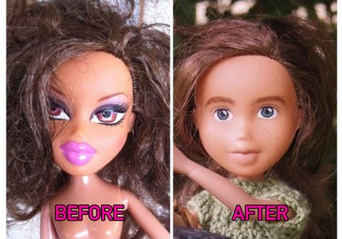 this australian mother of two is giving bratz dolls some serious