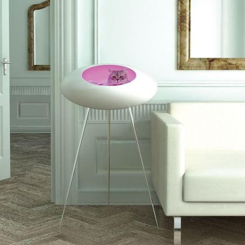 Floor, Product, Interior design, Flooring, Room, Wall, Furniture, Table, Interior design, Magenta,