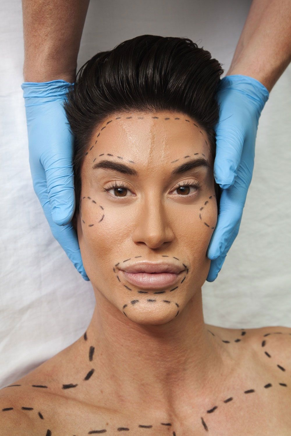 Human Ken Could Have Gone Blind Undergoing Cosmetic Surgery
