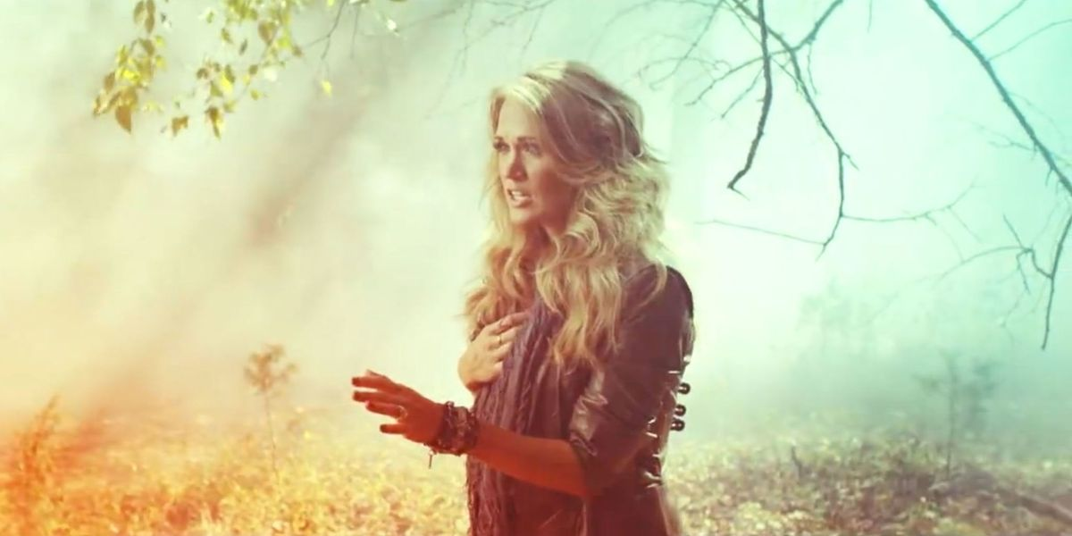 Watch carrie underwood s powerful new video for quot little toy guns quot