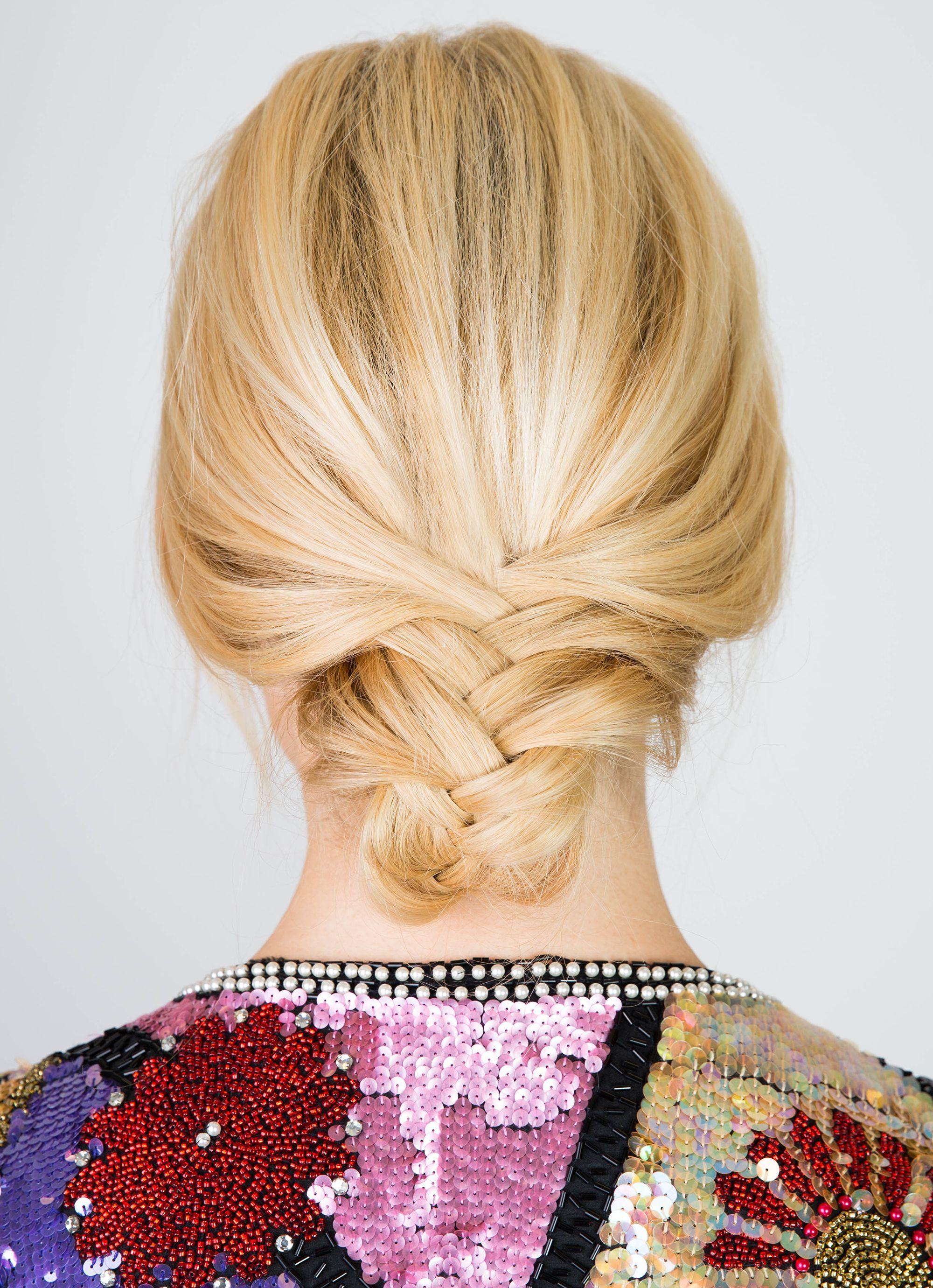Pleasant Tucked Fishtail Braid Hair How To Gorgeous Tucked Fishtail Braid Natural Hairstyles Runnerswayorg
