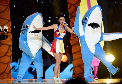 Super Bowl shark mess.
