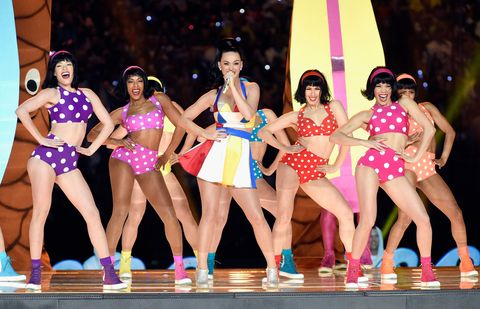 Was Katy Perry Throwing Shade At Taylor Swift At The Super Bowl