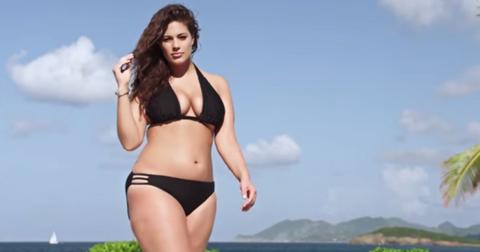 ashley graham plus-size swimsuit model sports illustrated