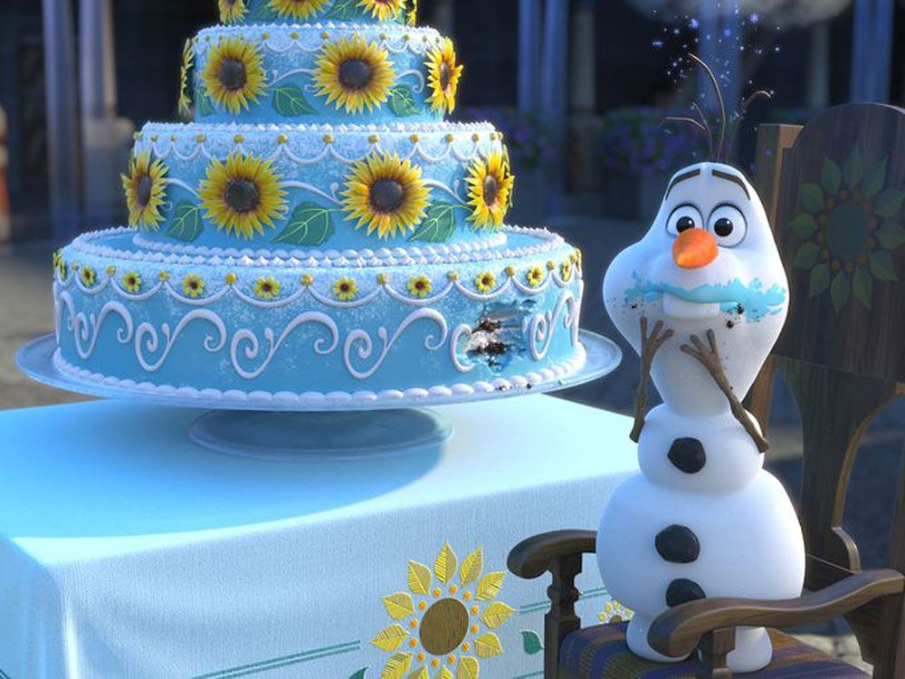 """The First Stills From the """"Frozen"""" Short Film Are Here!"""