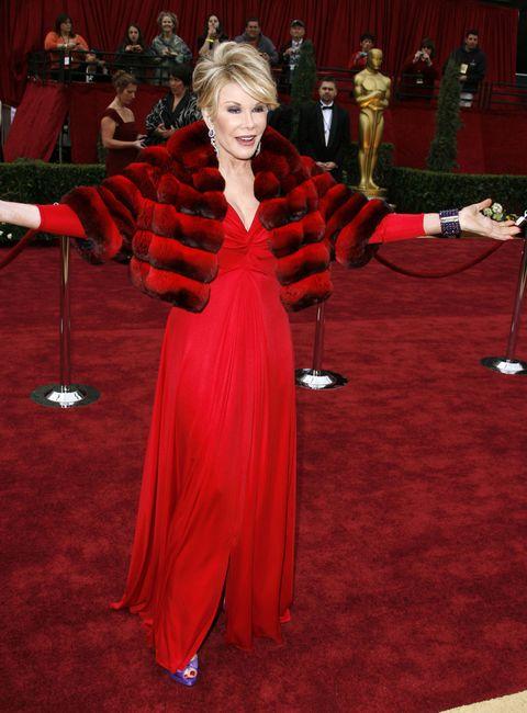 Joan Rivers at the Oscars