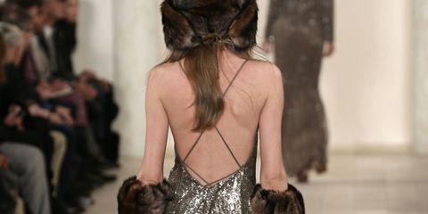 Back, Waist, Fashion, Long hair, Hip, Hair accessory, Abdomen,