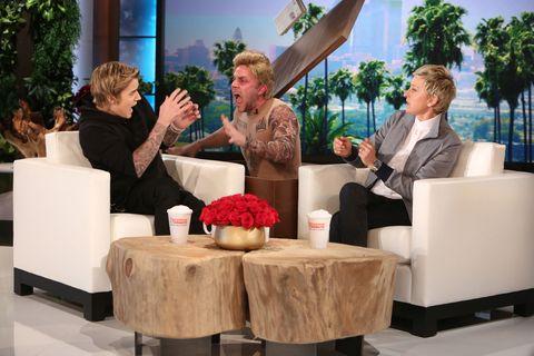 Watch Ellen DeGeneres Scare the Crap Out of Justin Bieber